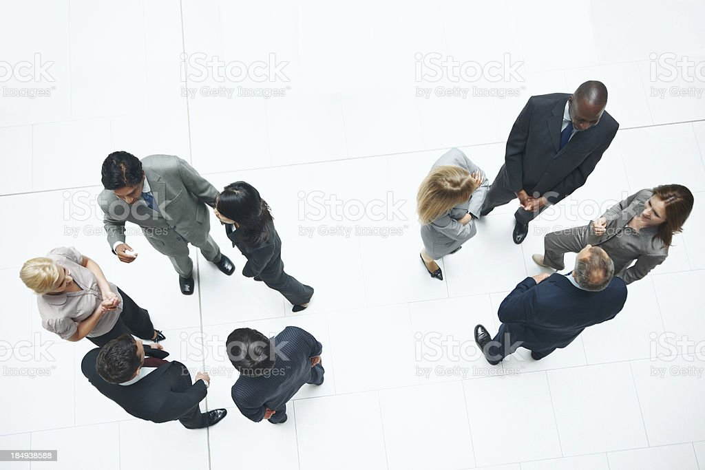 Age of networking royalty-free stock photo