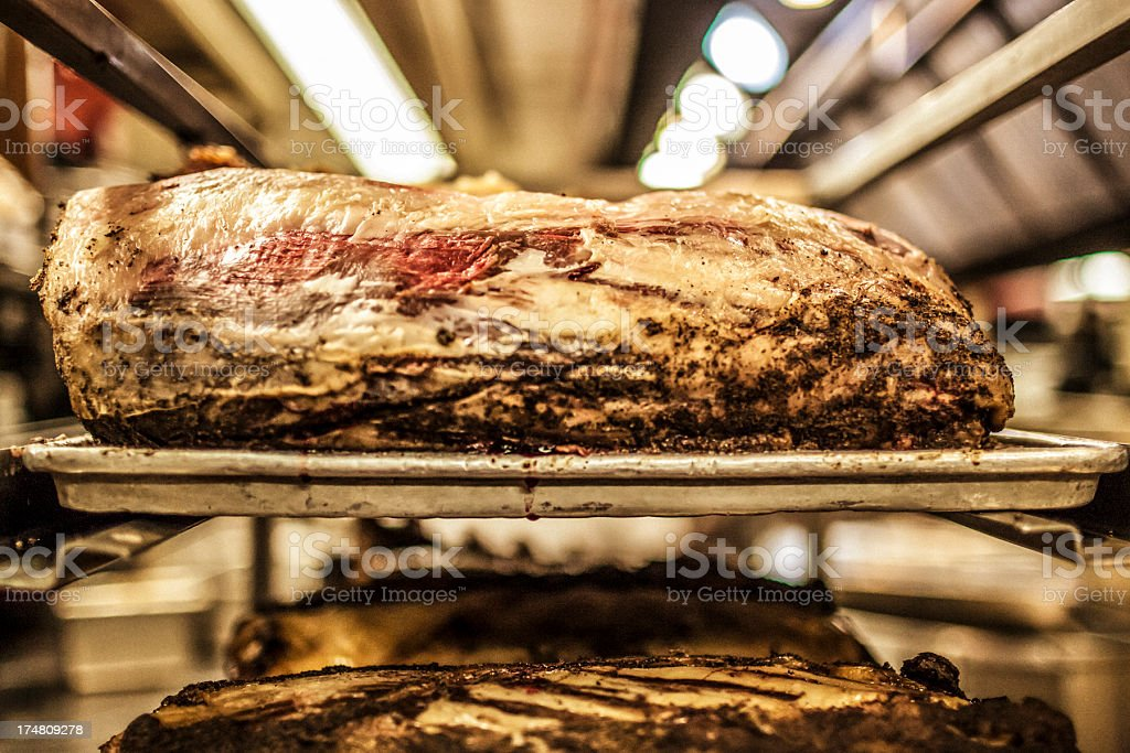 Aged beef stock photo