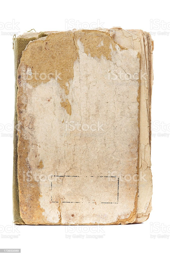 Aged book royalty-free stock photo