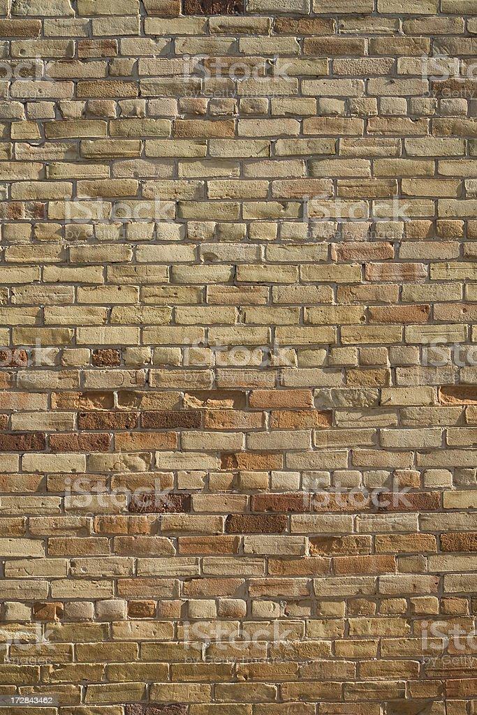 Aged brick wall background. royalty-free stock photo