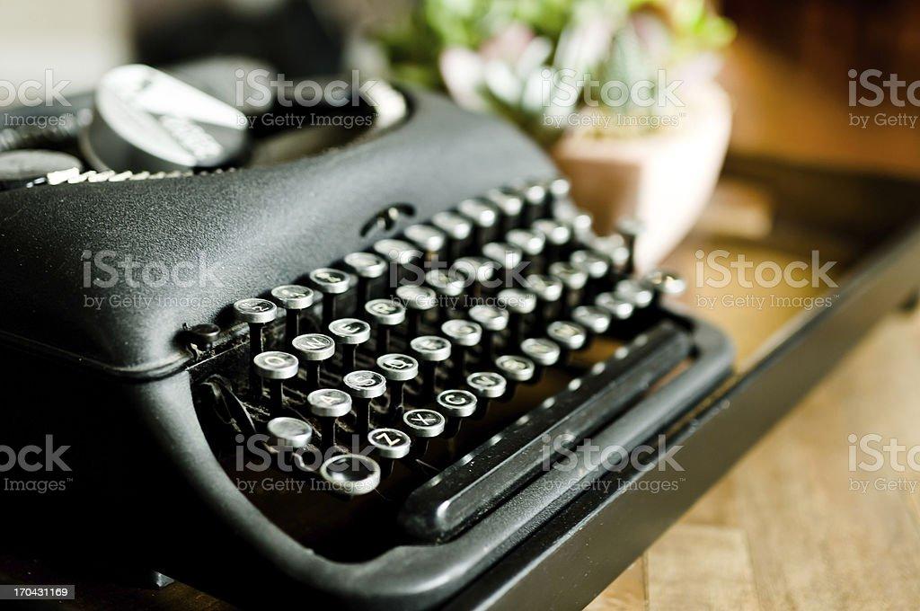 Aged but still beautiful typwriter royalty-free stock photo