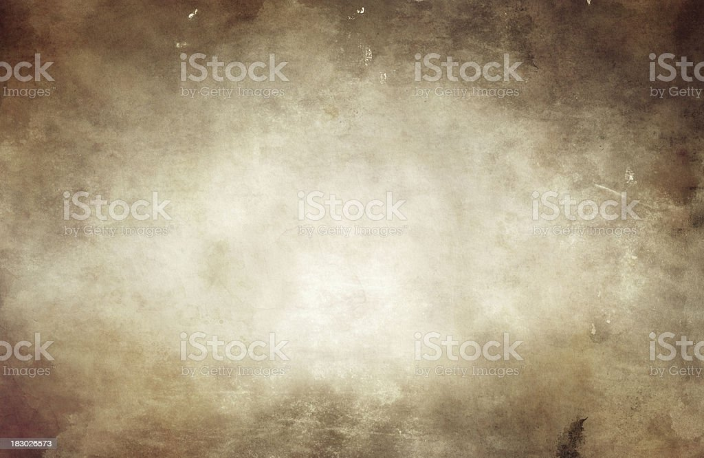 Aged crumpled paper royalty-free stock photo