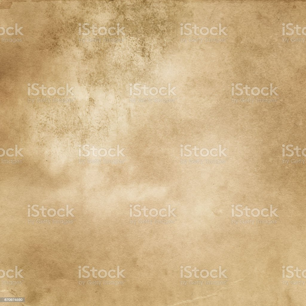 Aged dirty paper texture. stock photo