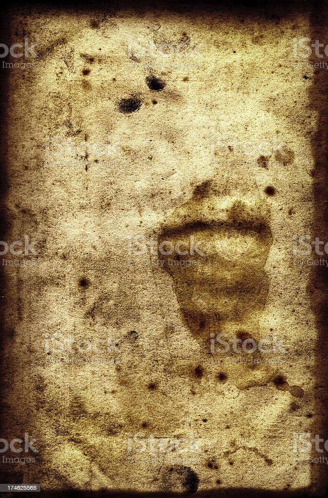 Aged Dirty Paper XXL royalty-free stock photo