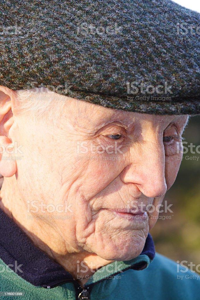 Aged Gentleman Series royalty-free stock photo