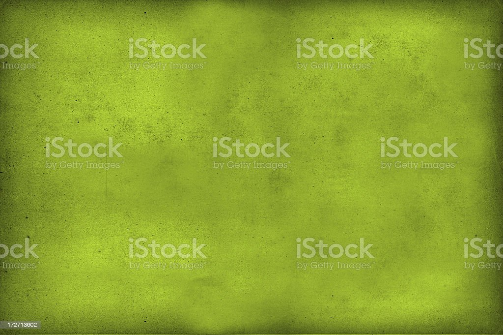 Aged Green Paper Background royalty-free stock photo