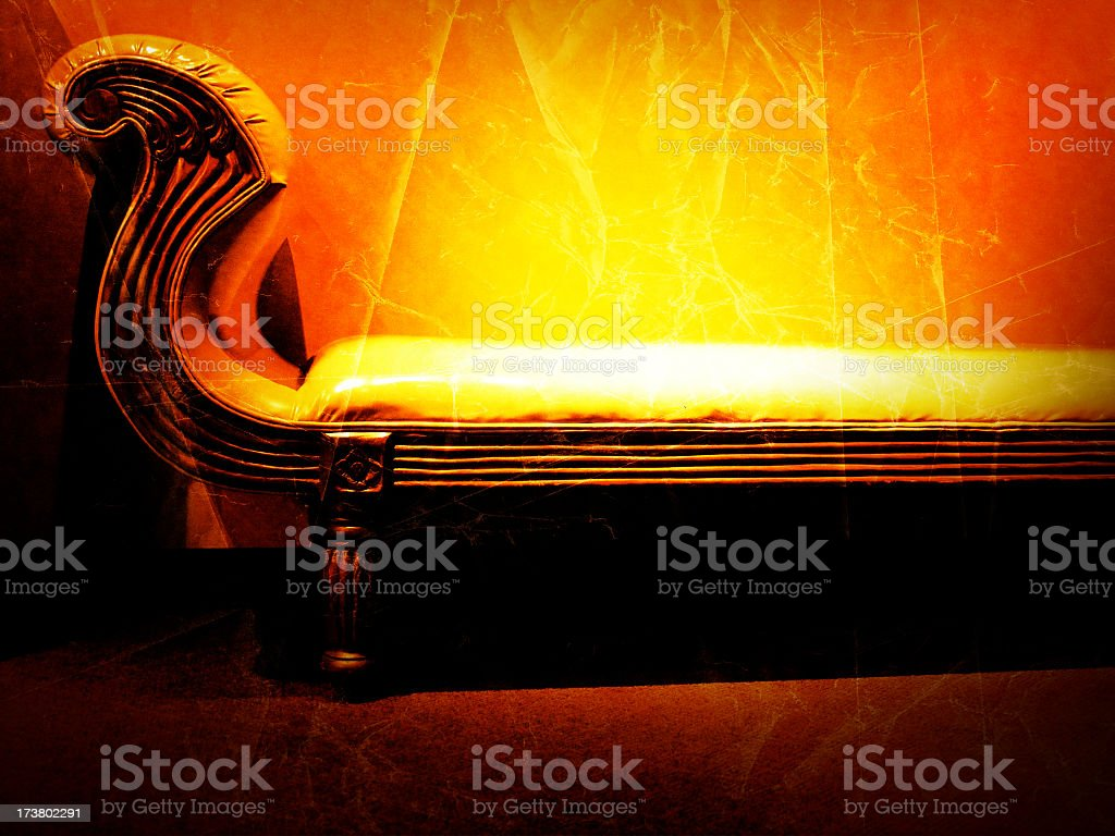 Aged Lounge royalty-free stock photo