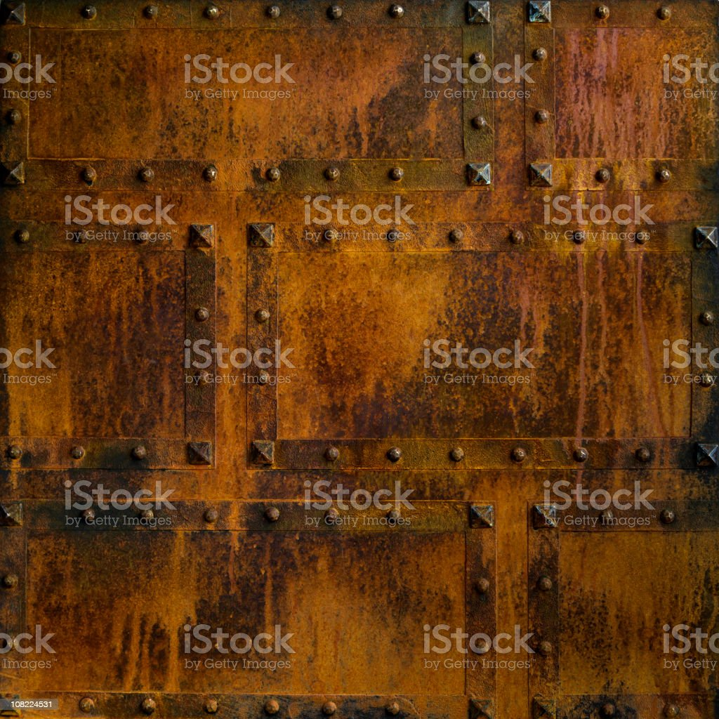 Aged Metal Faux Finish royalty-free stock photo