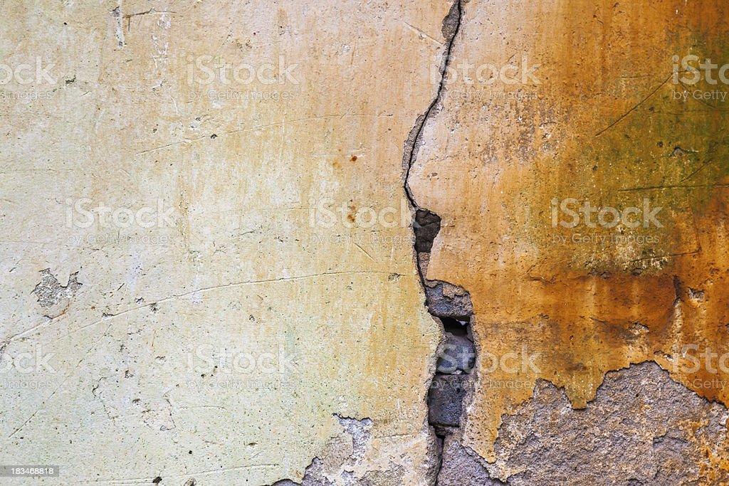 aged mud wall royalty-free stock photo