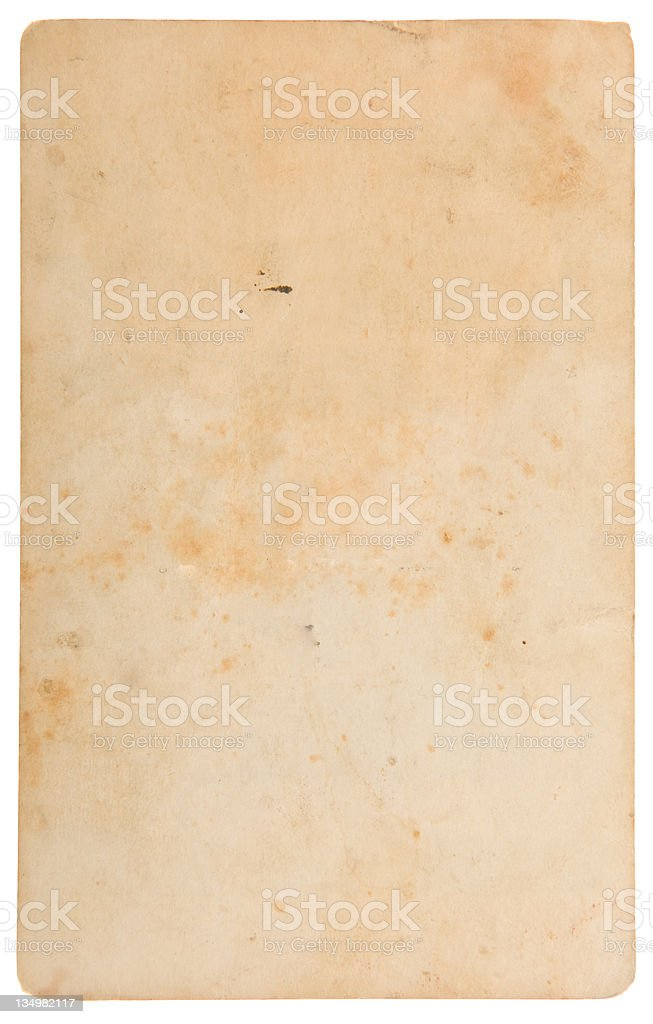 Aged, Old Paper, Card stock photo