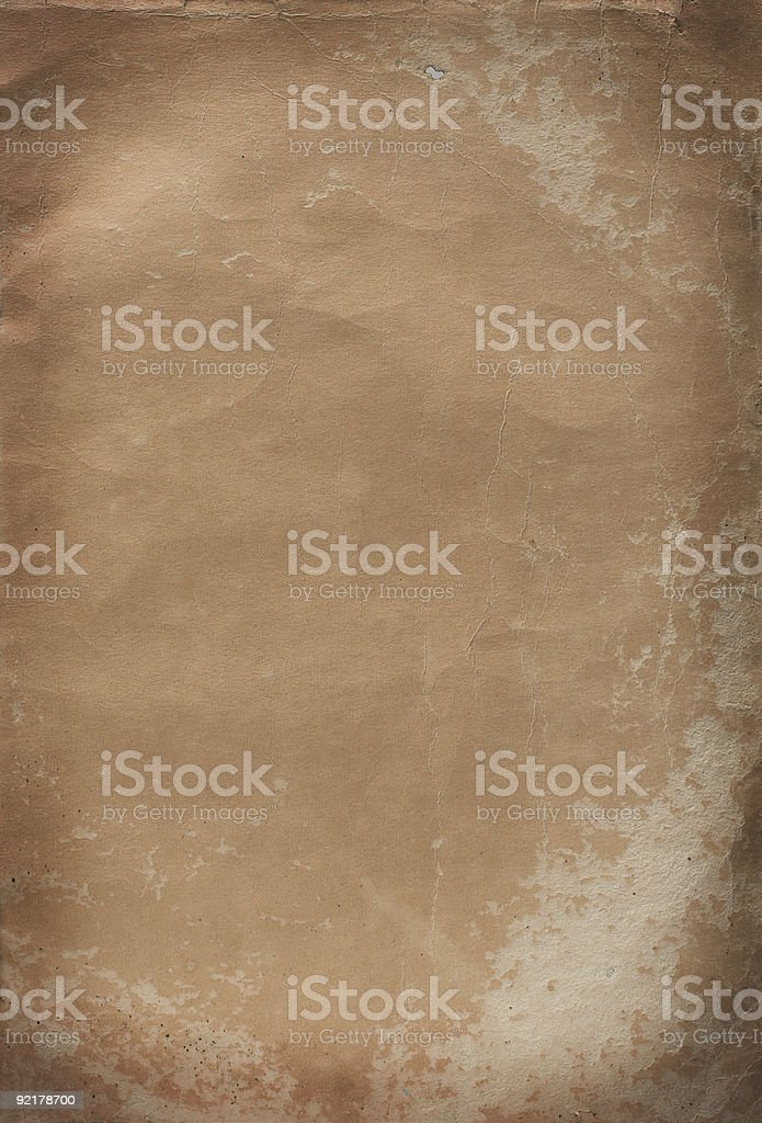 aged page series royalty-free stock photo
