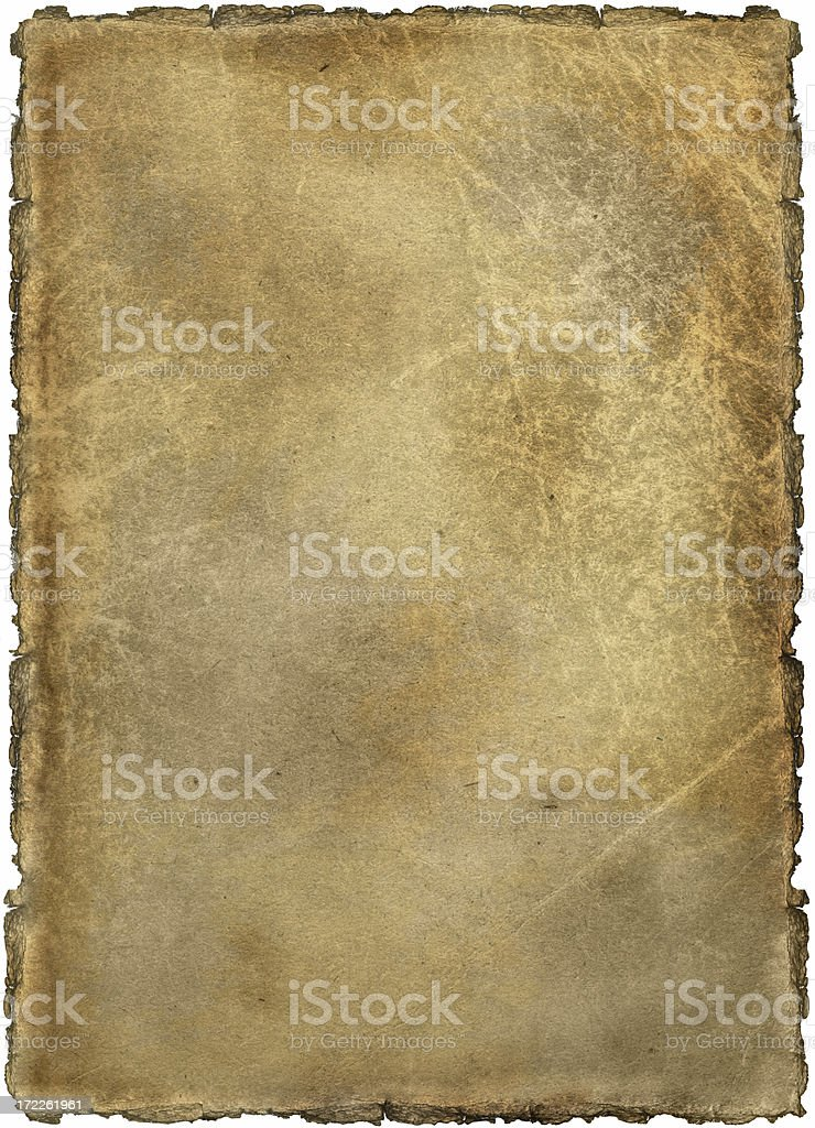 aged paper - background royalty-free stock photo