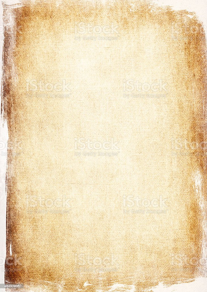 Aged paper background vector art illustration