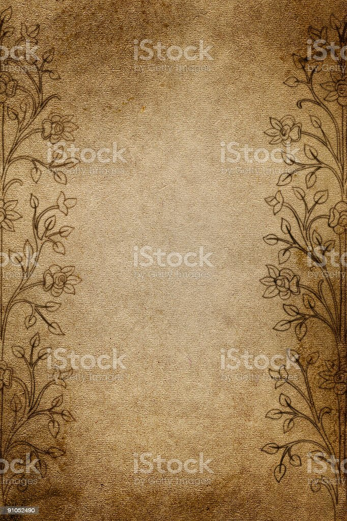 Aged Paper * royalty-free stock photo