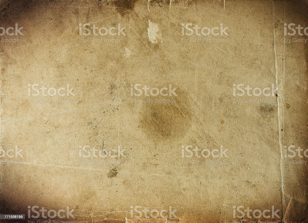 aged paper series royalty-free stock photo