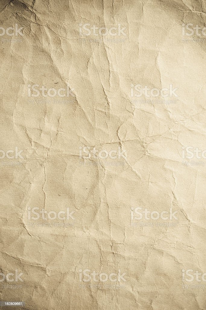 Aged paper texture royalty-free stock photo