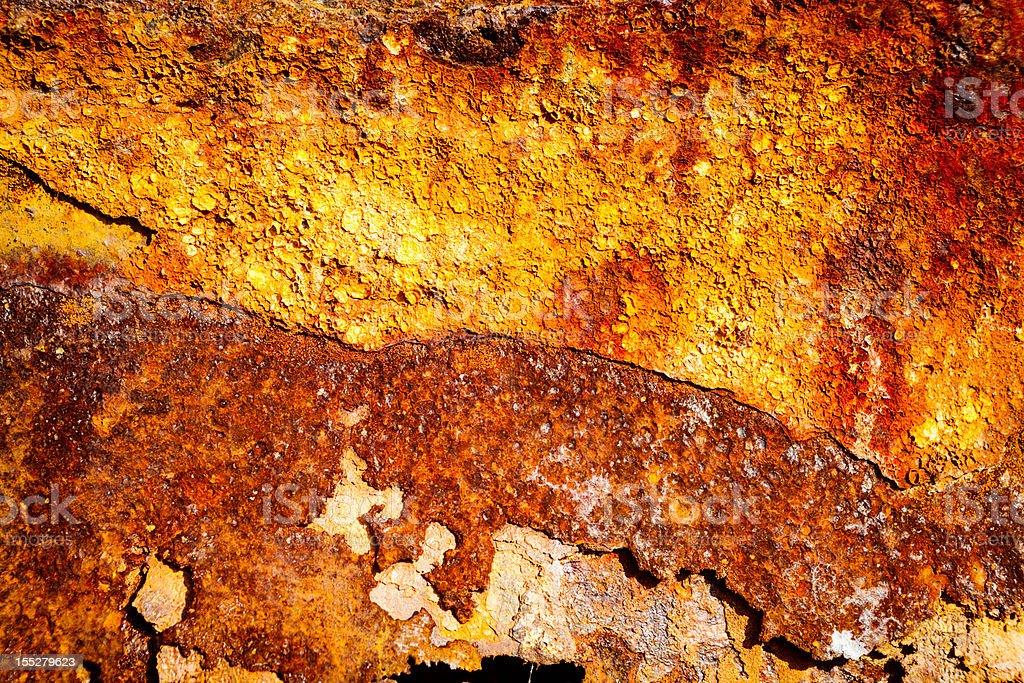 Aged rusty iron texture royalty-free stock photo