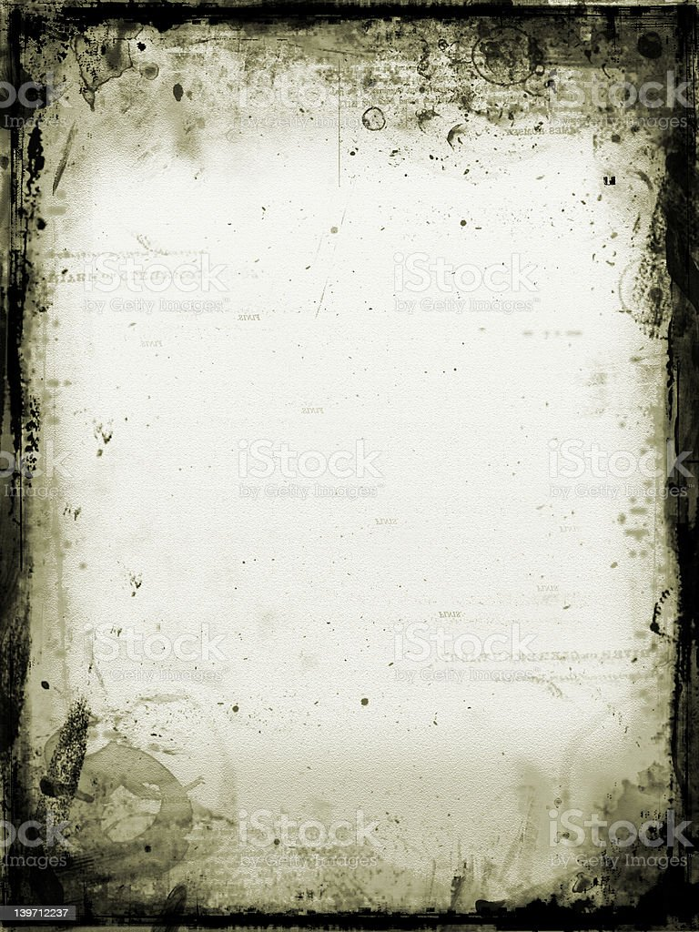 Aged stained paper royalty-free stock photo