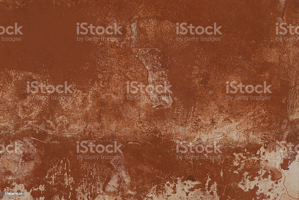Aged Stucco Wall Surface royalty-free stock photo