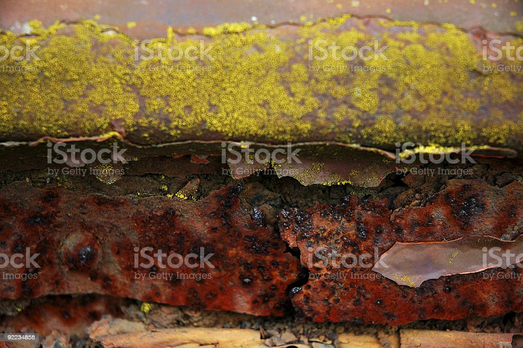 Aged Texture Decay royalty-free stock photo