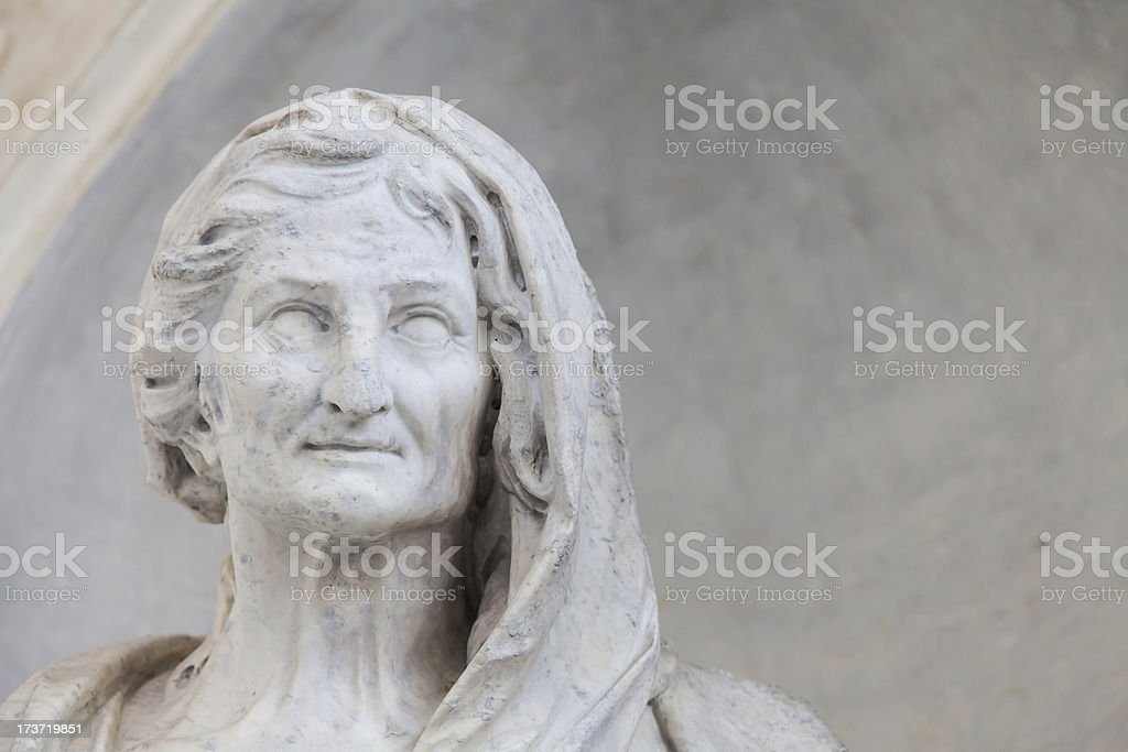 Aged woman royalty-free stock photo
