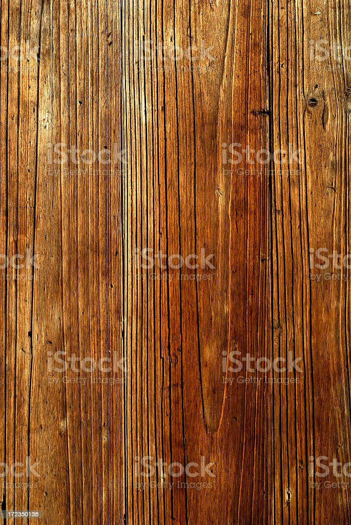 Aged Wood Grain royalty-free stock photo