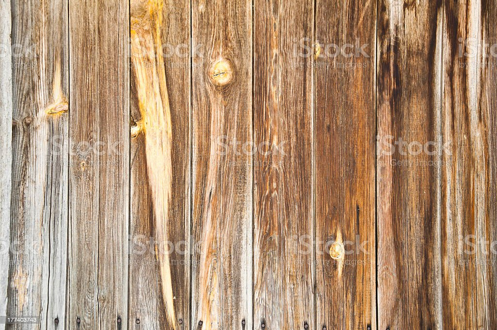 Aged wooden panels royalty-free stock photo