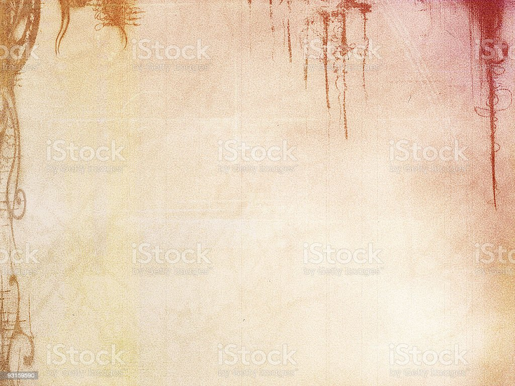 Aged Work royalty-free stock photo