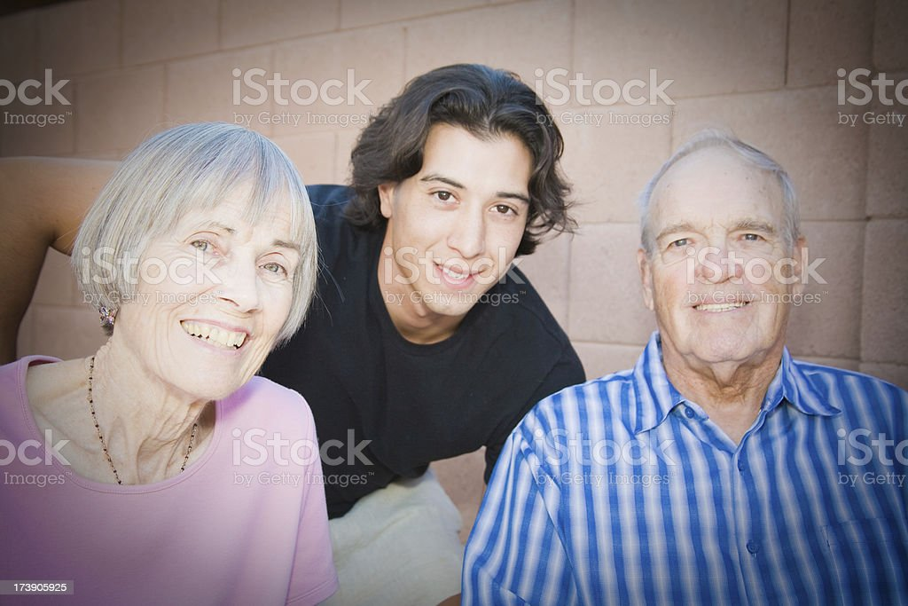 Ageism Home  Healthcare Couple royalty-free stock photo