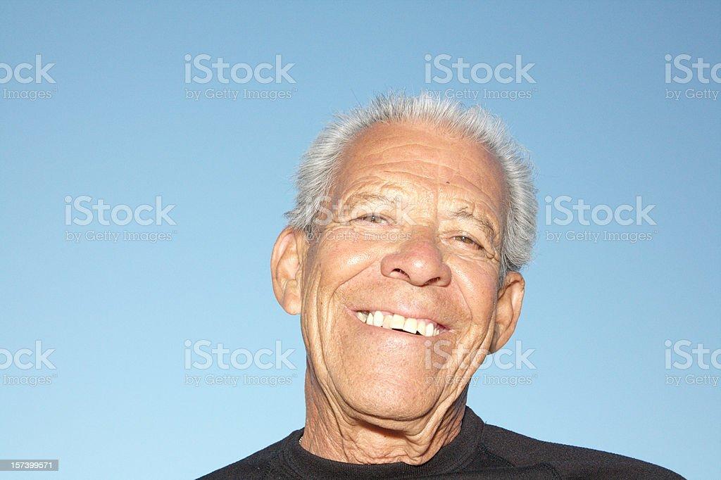 Ageism Senior Hispanic royalty-free stock photo