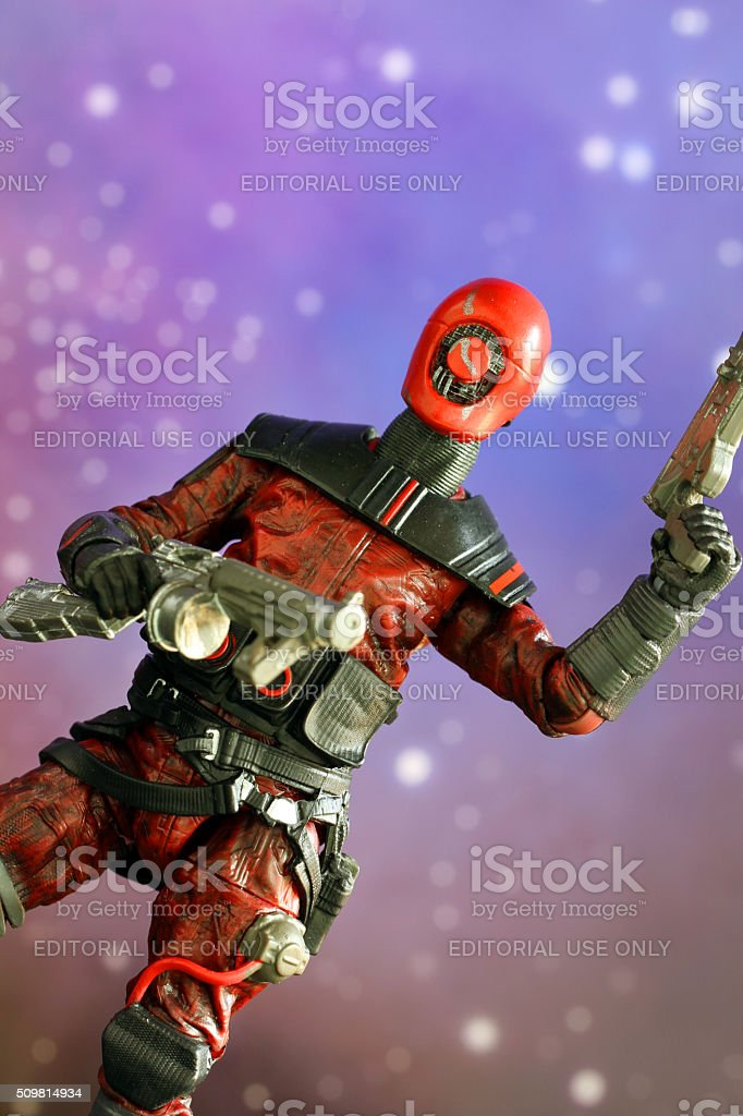Agent of Chaos stock photo