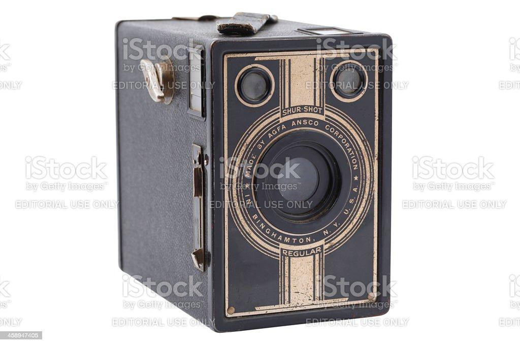 Agfa Ansco Shur Shot Camera royalty-free stock photo