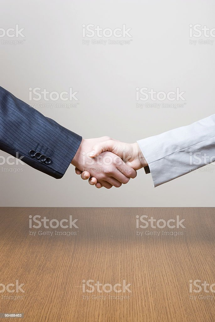aggrement royalty-free stock photo