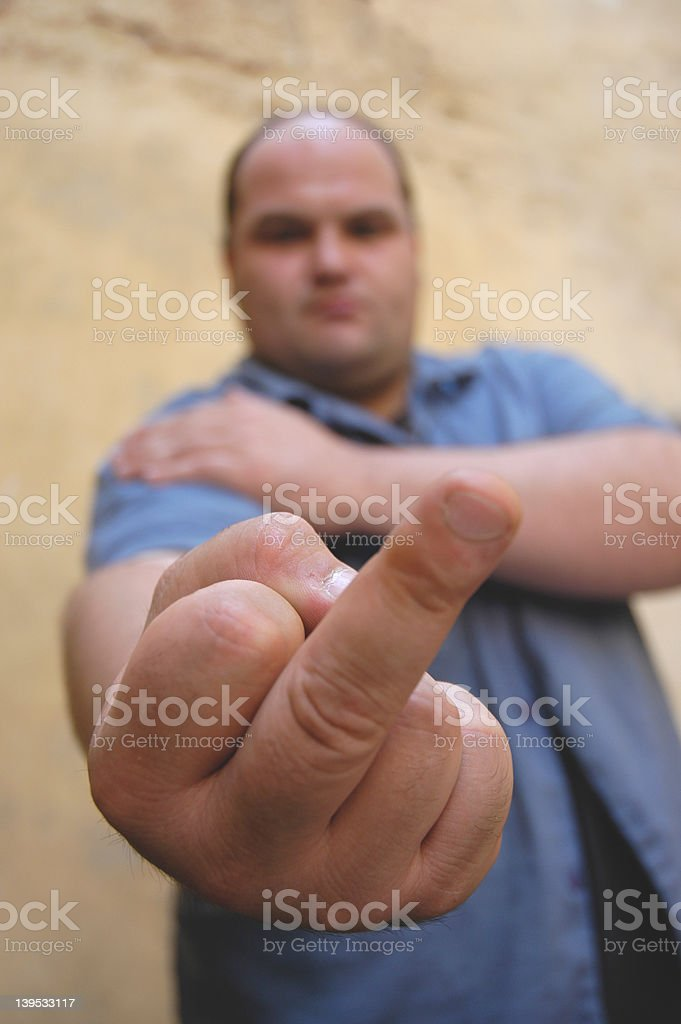 aggressive royalty-free stock photo
