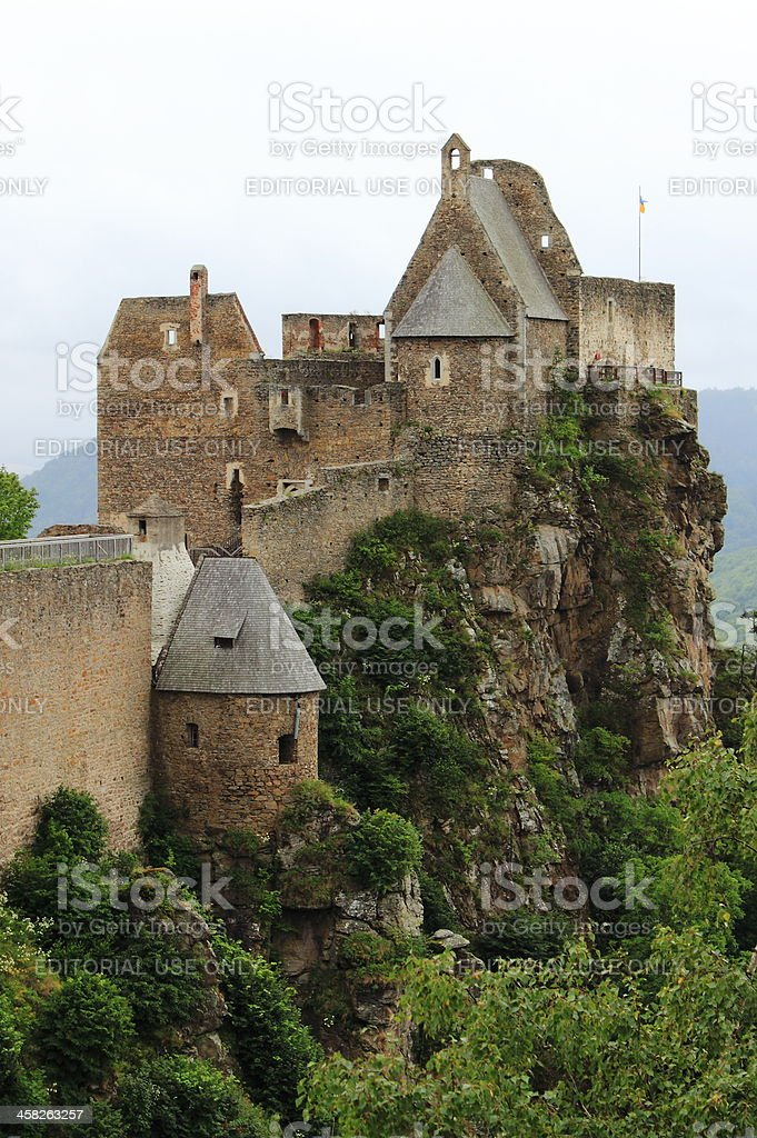 Aggstein Castle royalty-free stock photo