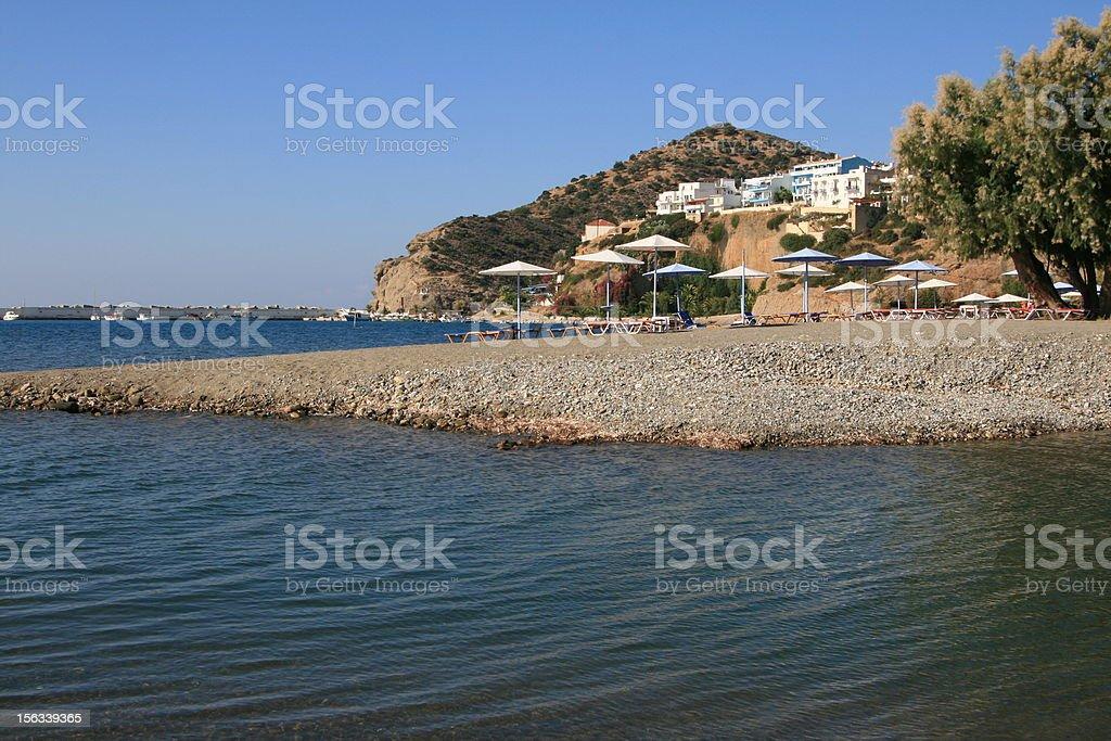 Agia Galini - Crete Island, Greece stock photo