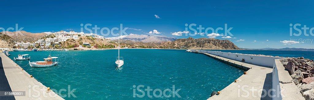 Agia Galini, Greece stock photo
