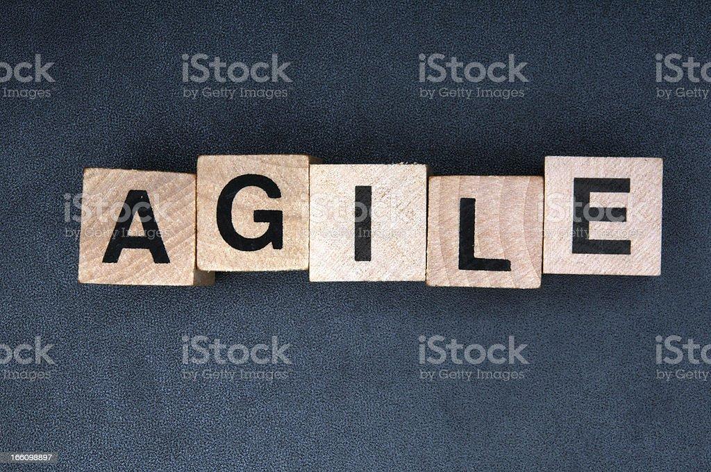 Agile royalty-free stock photo