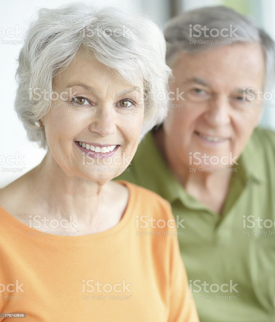 Aging gracefully royalty-free stock photo