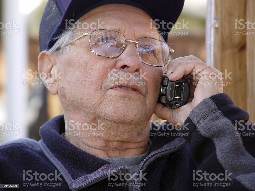 Aging gracefully stock photo