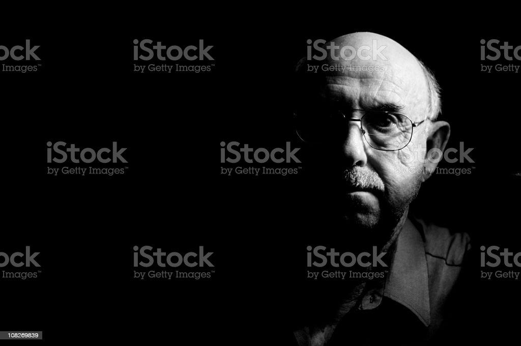 Aging Man - Senior Citizen royalty-free stock photo