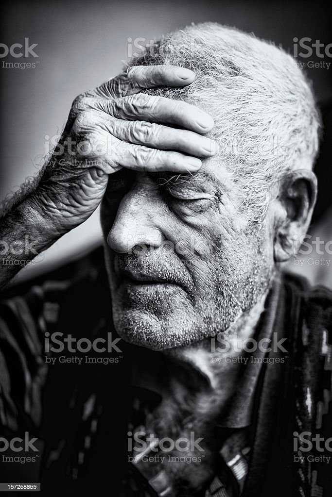 Aging stock photo