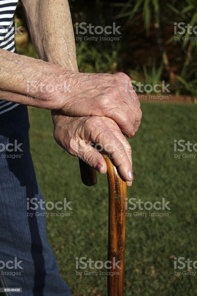 Aging stock photo