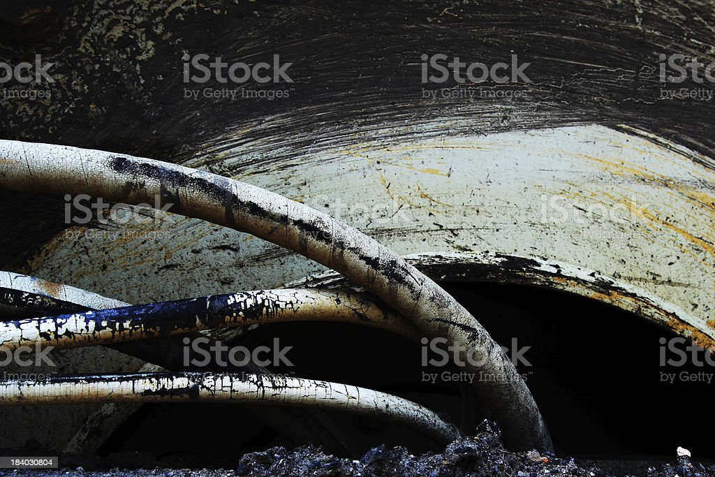 aging tubes royalty-free stock photo