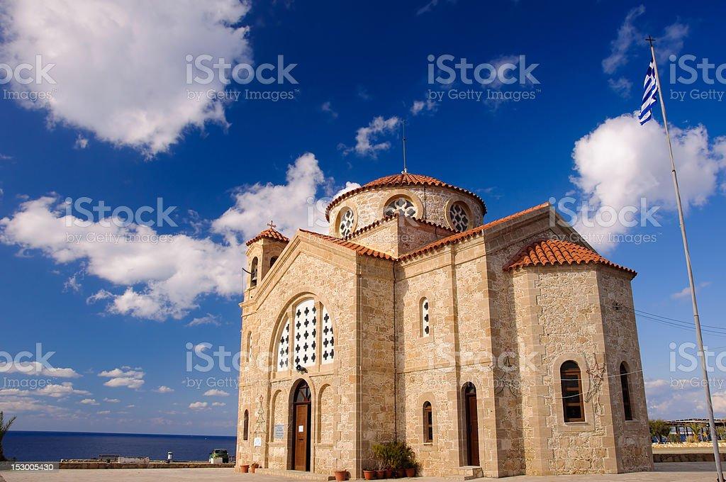 Agios Georgios church royalty-free stock photo