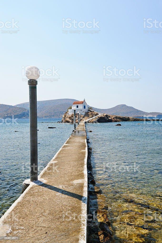 Agios Isidoros royalty-free stock photo