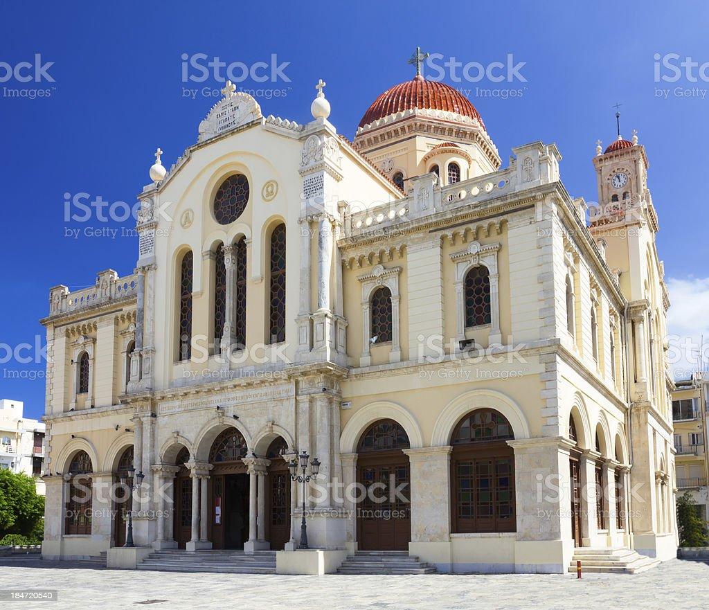 Agios Minas church royalty-free stock photo