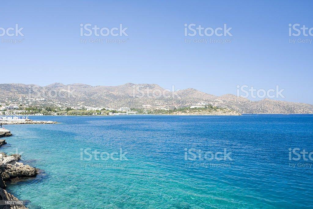 Agios Nikolaos stock photo