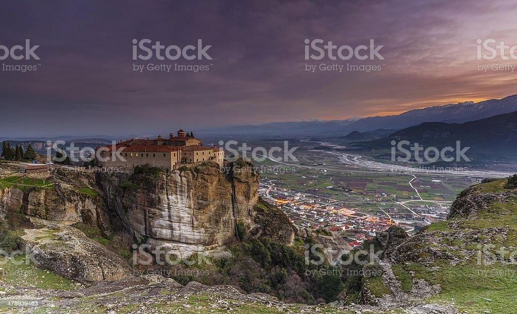 Agios Stefanos Monastery stock photo
