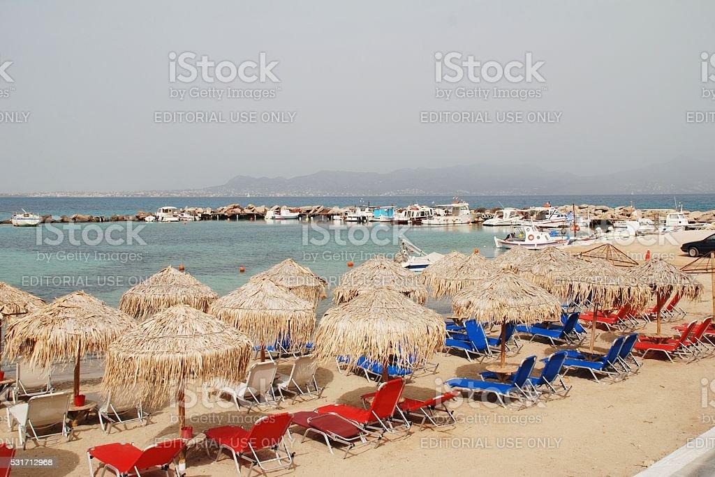 Agistri island, Greece stock photo